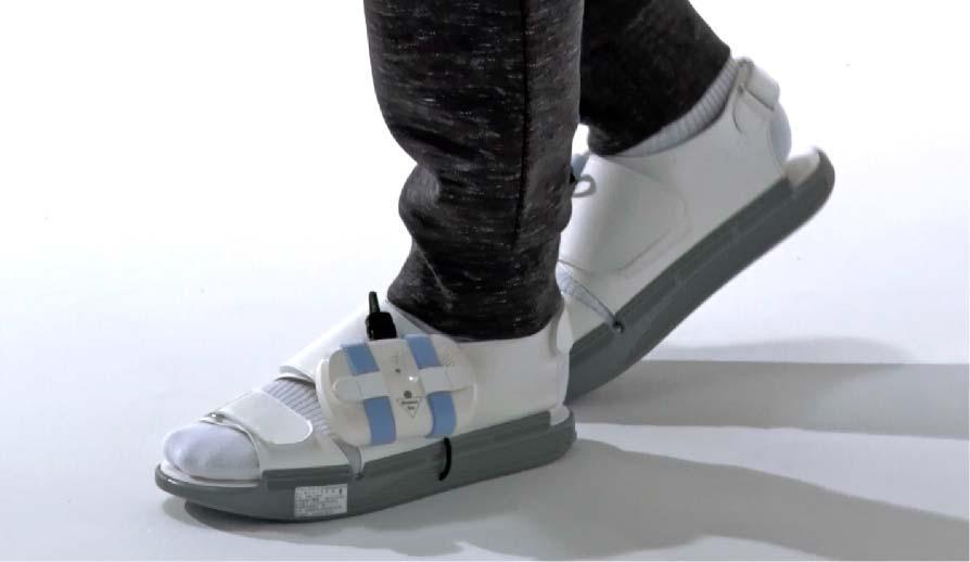 Walking with Balance Aid