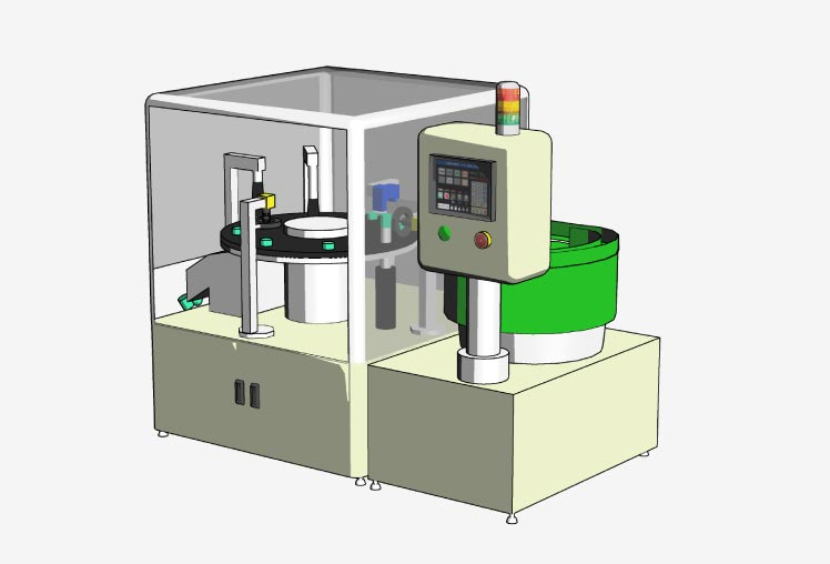 Small diameter image inspection machine for automobile