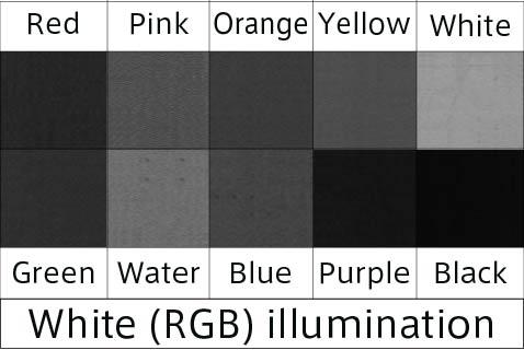 white W irradiation