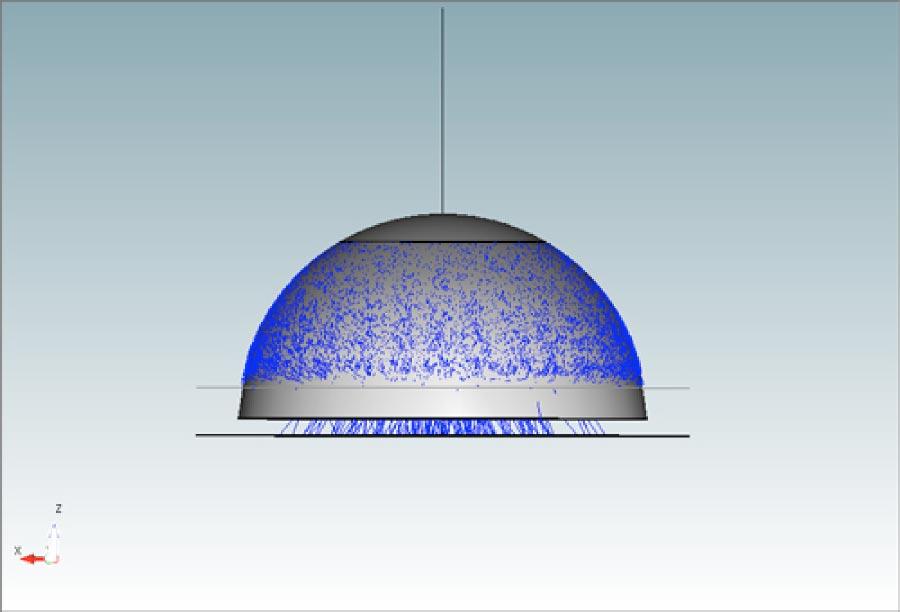 Ray tracing simulation