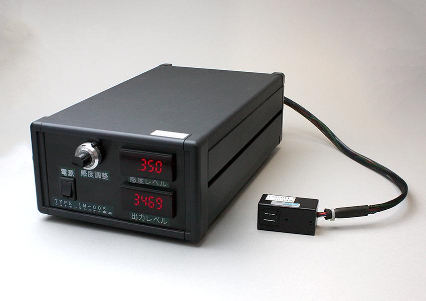 高感度光センサーを使用した光検出装置