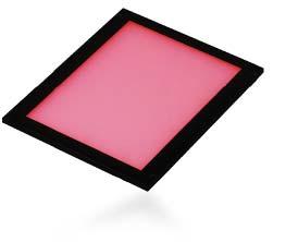 透過方式の角型エッジライト照明
